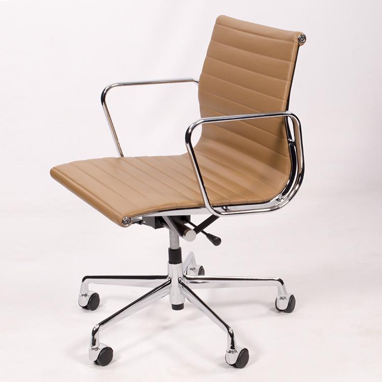 krzesło biurowe EA117 jasna opalenizna