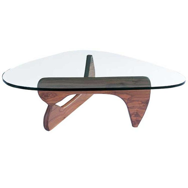 Mesa de centro mesa Noguchi nuez