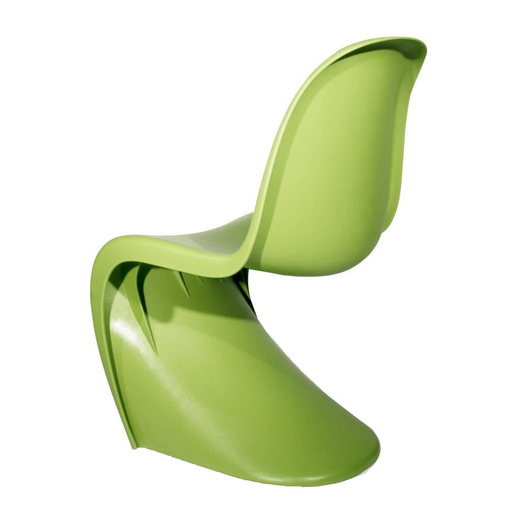 jadalnia krzesło Krzesło Panton jasnozielony