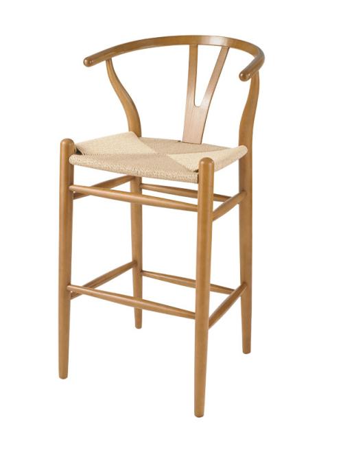 hans wegner barstol wishbone design taburetter og barstole. Black Bedroom Furniture Sets. Home Design Ideas