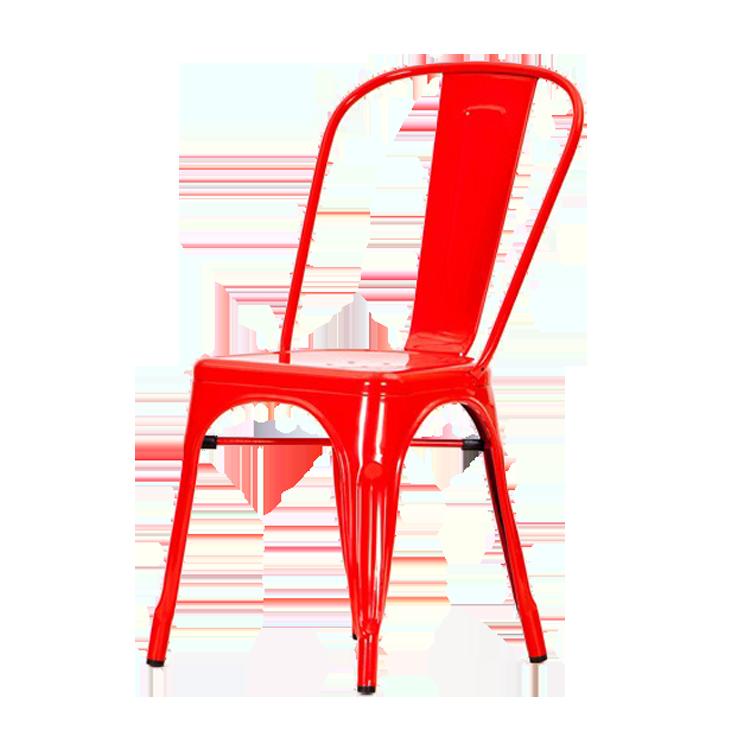 Xavier pauchard eetkamerstoel tolix terrasstoel stapelbare stoel design outdoor - Stoelen tolix ...